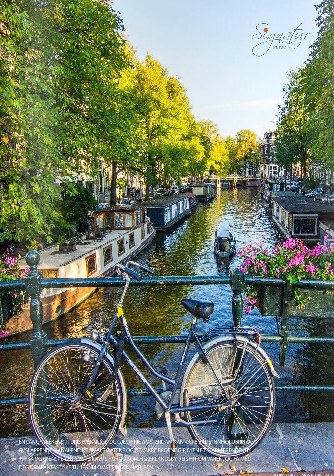 presentasjon katalog gruppetur til Amsterdam