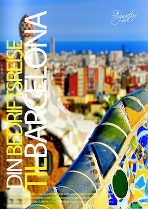 presentasjon katalog gruppetur til barcelona