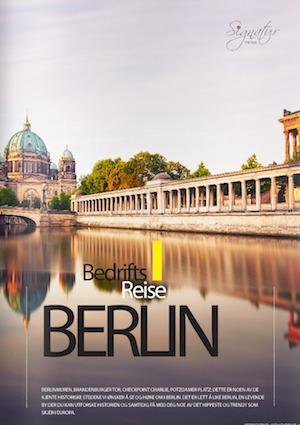presentasjon katalog gruppetur til Berlin