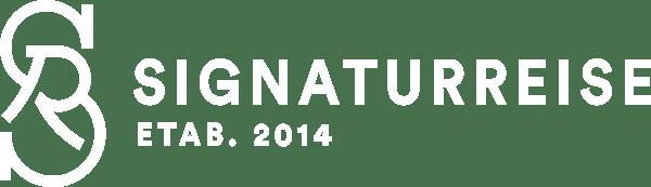 logo liggende etablert firmatur signaturreise