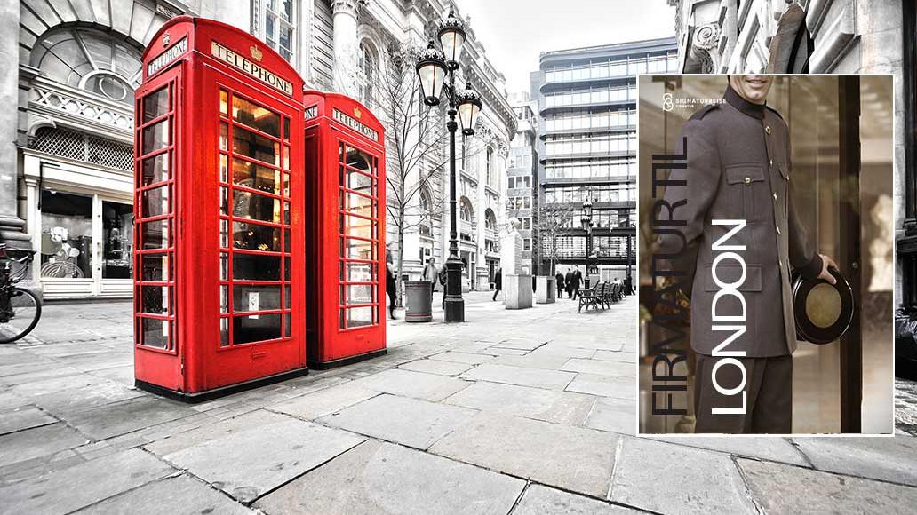 firmatur til London