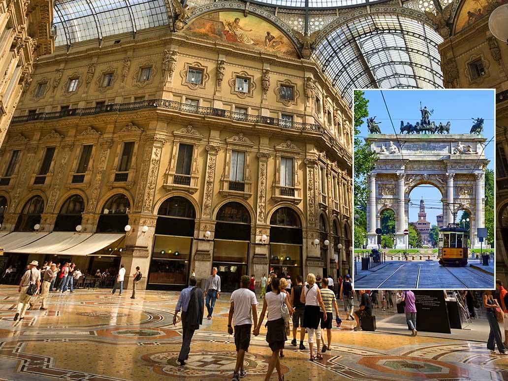 firmatur til Milano
