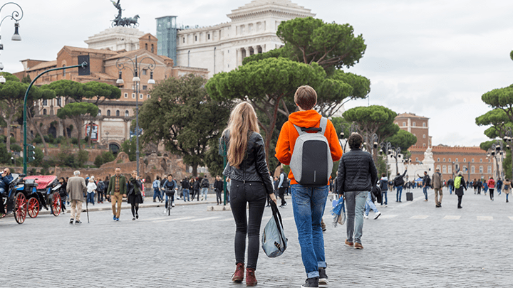 guidet tur i roma