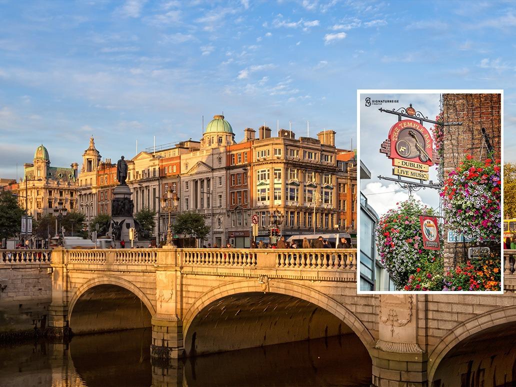 Firmatur til Dublin Signaturreise