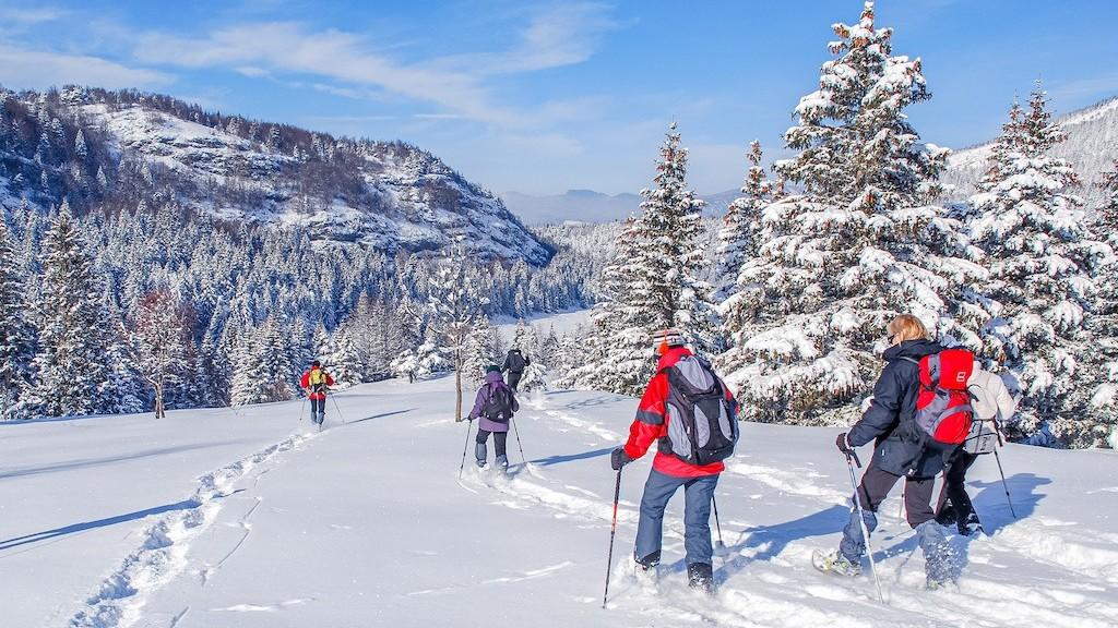 Gruppetur på ski i trøndelag