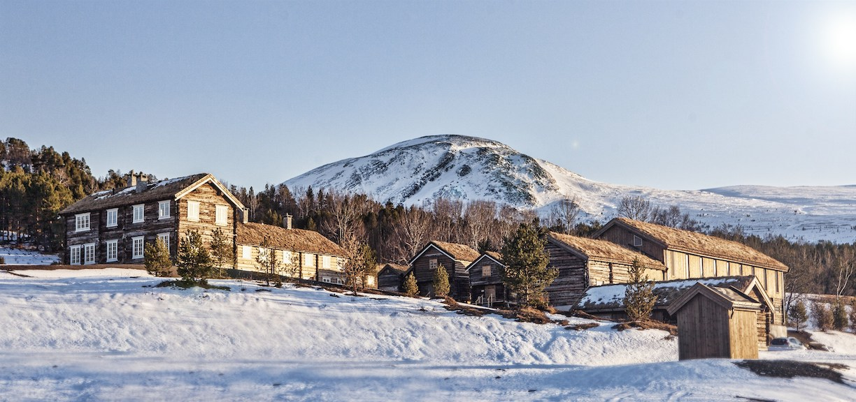 firmatur til Trøndelag på vinter