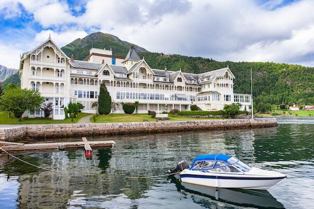 Et stilig Hotell for gruppereise i Norge
