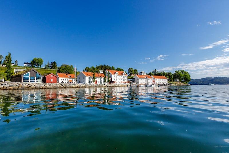 Hotell Møre og Romsdal Angvik Gamle Handelssted - Foto Classic Norway