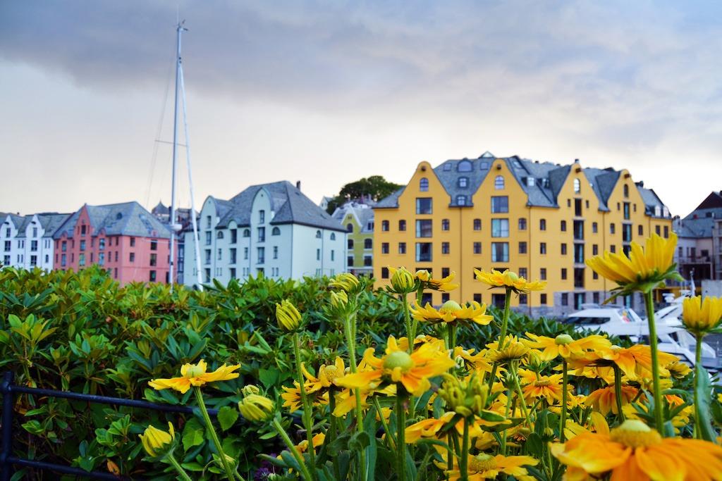 Ålesund by sentrum | Jugend Stil arkitektur |Signaturreise