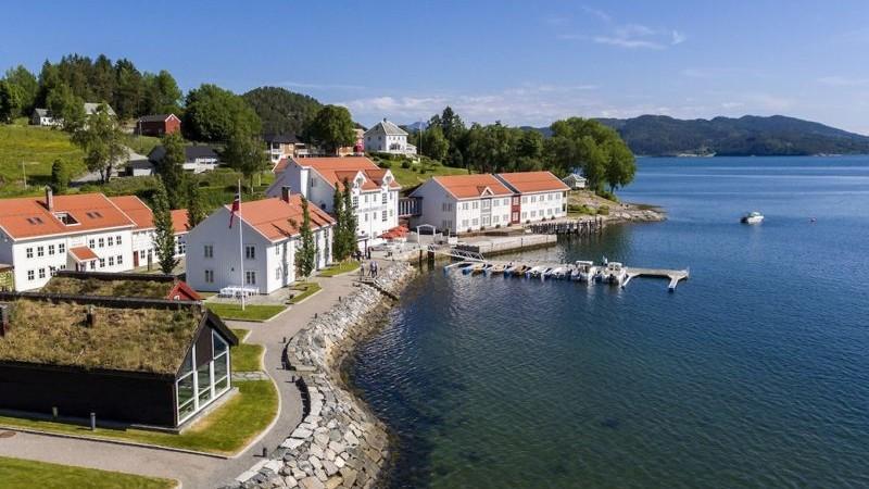 Angvik Gamle Handelssted - Foto Classic Norway