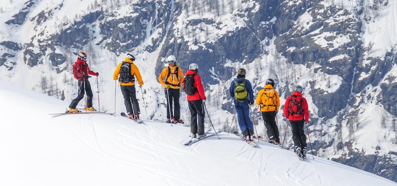 gruppereise på ski nord norge fjell