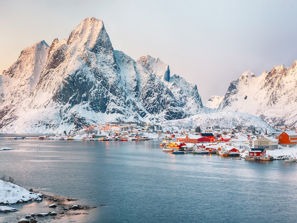 fint bilde av firmatur til nord norge