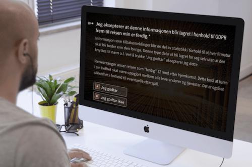 digital påmelding ansatte til firmatur eller arrangement