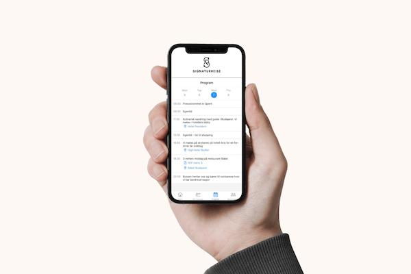 mobil app for våre kunder