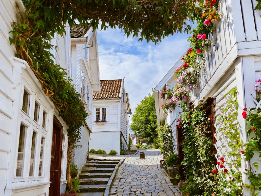 Firmatur til Stavanger | Hvite trehus |Stavanger sentrum |Signaturreise